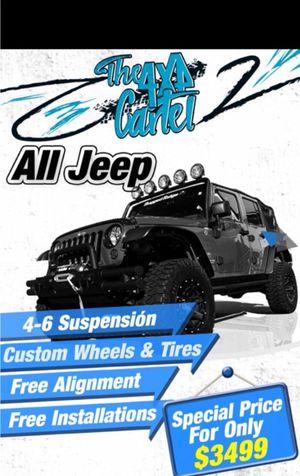 Wheels/ tires/ suspension especial ***we finance **** for Sale in Doral, FL