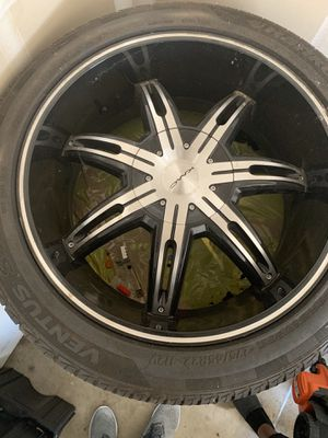KMC SURGE RIMS + TIRES 275/45R/22 for Sale in Scott Air Force Base, IL