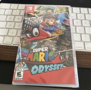 Super Mario Odyssey (New, Nintendo Switch) for Sale in Los Angeles, CA