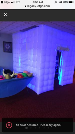 Photo booth Enclosed or Open Air for RENT for Sale in Ronkonkoma, NY