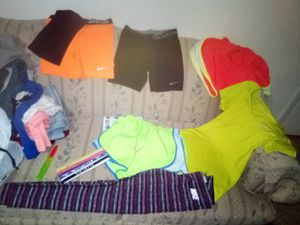Nike running gear headbands training be bra etc for Sale in Richland, MO