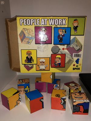Vintage Cube Puzzle ! Rare find! Children game puzzle! for Sale in Phoenix, AZ
