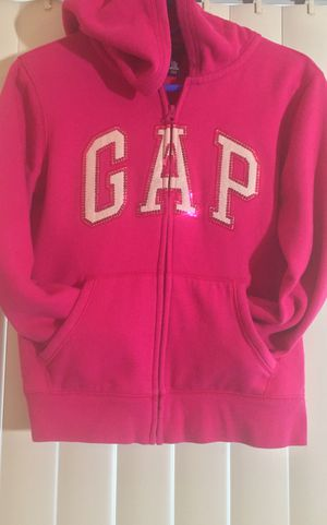 FOLLOW ME FOR MANY UPCOMING CLOTHING POSTS!!! Gap Pink Zipper Hoodie Sweatshirt/Jacket Children's Size 10/12 for Sale in Henderson, NV