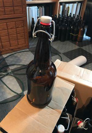 32 oz flip top bottles. EZ cap for Sale in Mukilteo, WA
