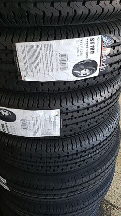 Trailer tires new for Sale in Fort Worth,  TX