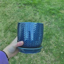 Blue Plant Pot 💙 for Sale in Glendale,  CA