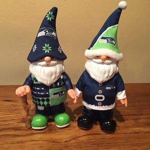 Forever NFL Collectibles Seahawks Gnomes for Sale in Seattle, WA