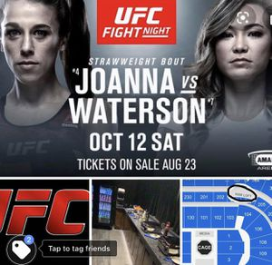 UFC tickets in an all inclusive suite for Sale in Tampa, FL