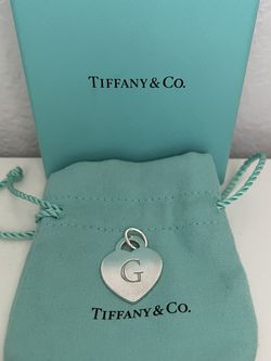 """Tiffany And Co """"G"""" Charm for Sale in Des Moines,  WA"""