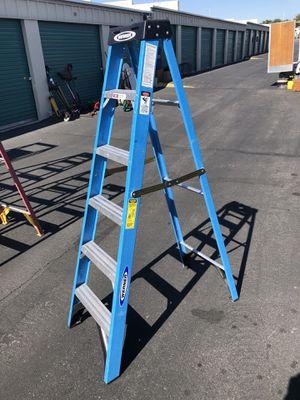 Werner 6ft 250lb Capacity Fiberglass A-Frame Ladder for Sale in Las Vegas, NV