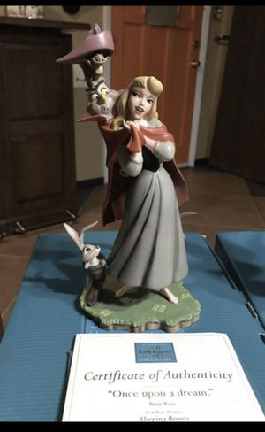 "WDCC Sleeping Beauty ""Once Upon a Dream"" Disney Figurine for Sale in Fort Worth, TX"