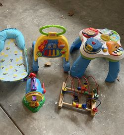 All Items. Baby Bath, Walker, Activity Table for Sale in North Bend,  WA