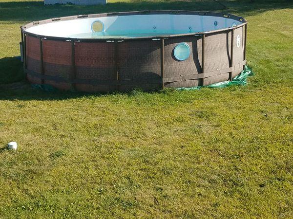 Intex 16x48 Pool W/accessories