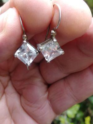 Ear.925 silver cz for Sale in Saint CLR SHORES, MI