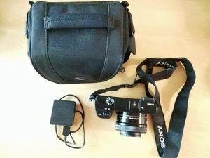 Sony Alpha a6000 24.3MP Camera /16-50mm Lens kit + Camera Bag for Sale in Rockville, MD