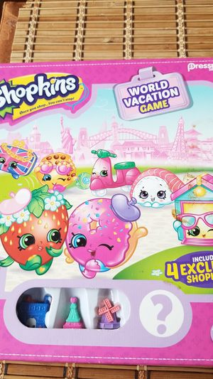 SHOPKINS WORLD VACTION GAME for Sale in Puyallup, WA