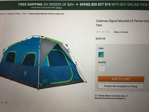 Tent for Sale in Fort Shawnee, OH