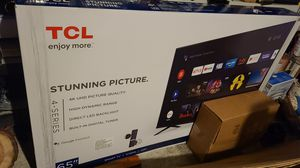 "TCL 65"" UNOPENED NEW $420 for Sale in Cedar Hill, TX"
