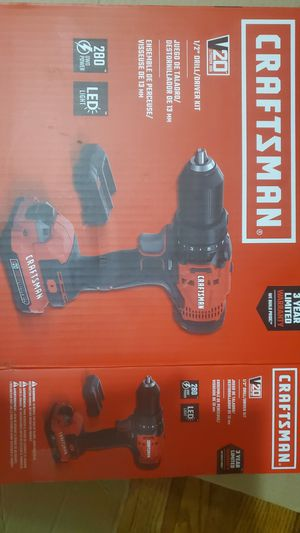 Craftsman V20 Drill for Sale in Ravenna, OH