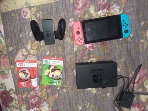 Nintendo switch. $30 credit, accessories and more for Sale in Scottsdale, AZ