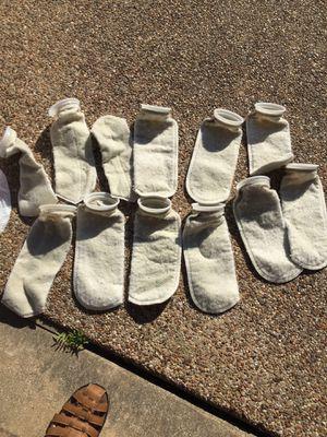 "4"" sump filter socks for aquarium for Sale in Sachse, TX"