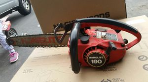 Homelite chainsaw for Sale in Rolling Meadows, IL