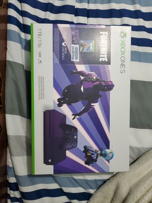 Xbox one s fortnite edition for Sale in Chicago, IL