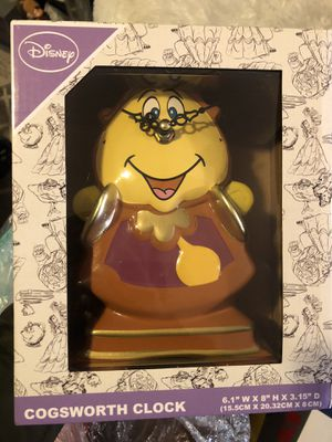 Beauty and the beast Disney clock for Sale in Brooklyn, NY