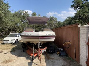 1997 23 Foot Galaxie Ultra Deck Boat for Sale in San Antonio, TX