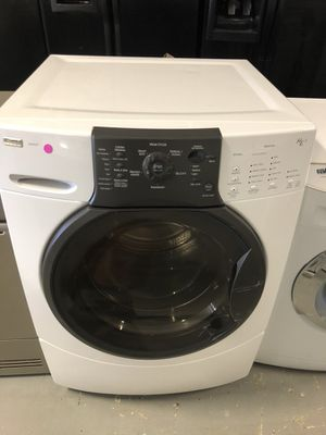 "27"" kenmore elite front load washer with warrantt for Sale in Woodbridge, VA"