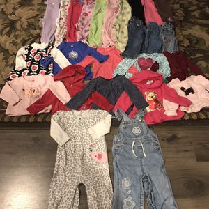 Super Adorable 25 Pc Baby Girl Winter Clothing Lot Size 18/24 Mos - GREAT condition for Sale in Granite Falls, WA
