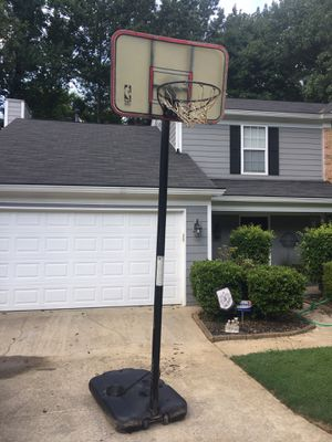 Free basketball pole and backboard - end of driveway - 1st come 1st serve for Sale in Alpharetta, GA