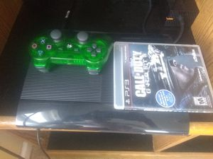 500 GB super slim PS3 for Sale in Finleyville, PA