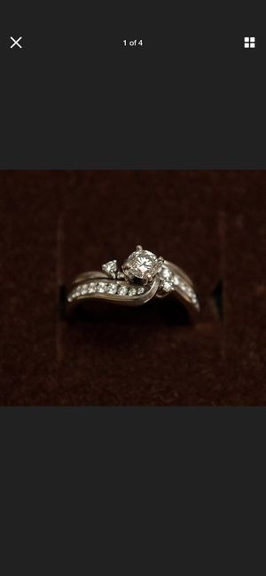 Gold Diamond Ring for Sale in Turlock, CA