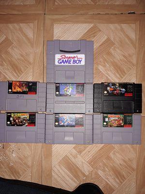 Snes Super Nintendo Games for Sale in Huntington Park, CA