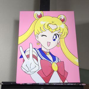 Sailor Moon Anime Manga Custom Painting On Sale Final Price for Sale in Los Angeles, CA