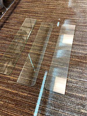 3 glass shelves (set) for Sale in Las Vegas, NV