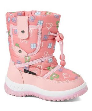Adorababy Pink Hearts Snow Boot - Girls, Size: Toddler 10 for Sale in Rochester, NY