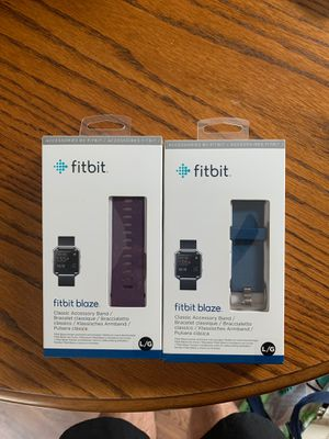 Fitbit blaze bands (L) for Sale in San Marcos, CA