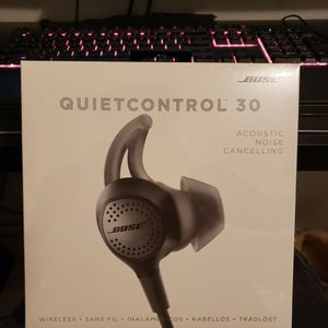 Bose Quietcontrol 30 Acoustic Noise Canceling for Sale in Dallas, TX