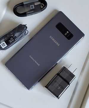Samsung Galaxy Note 8, Factory Unlocked, Nothing wrong works perfectly, Excellent condition like new for Sale in Springfield, VA