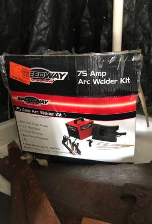 75 Amp Arc Welder Kit for Sale in Millsboro, DE