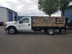 2011 Ford f350 powerstroke flatbed for Sale in Vancouver, WA