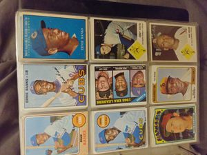 Baseball basketball card collection for Sale in Montclair, CA