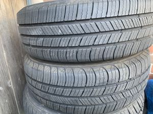 2pcs. tires 185x65x15 $19 each (Michelin) for Sale in Villa Park, IL