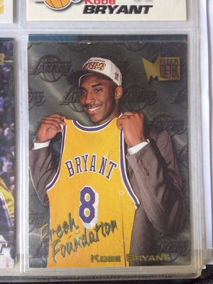 "CLASSIC Kobe Bryant"" Basketball Card 1st Time Drafted To The NBA for Sale in Boston, MA"