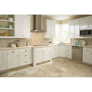 Hampton Bay Shaker Assembled 30x30x12 in. Wall Kitchen Cabinet in Satin White for Sale in Dallas, TX