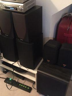 Compact Denon HiFi Setup + JBL, Boston, Mission Speakers for Sale in Portland,  OR