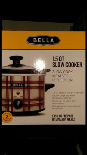 Bella 1.5 QT. Slow cooker for Sale in Orange, CA