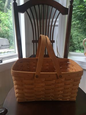 Longaberger Basket-swing handle for Sale in Cheshire, CT